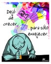 Cartoon: Mal envejecer (small) by LaRataGris tagged laratagris,envejecer