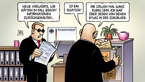 Cartoon: BKA-Giftschrank (medium) by Harm Bengen tagged bka,giftschrank,geheim,geheimnis,informationen,ermittlungen,fall,edathy,erpressung,verdacht,bundestagsabgeordneter,skandal,immunitaet,harm,bengen,cartoon,karikatur,bka,giftschrank,geheim,geheimnis,informationen,ermittlungen,fall,edathy,erpressung,verdacht,bundestagsabgeordneter,skandal,immunitaet,harm,bengen,cartoon,karikatur