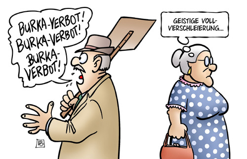 Cartoon: Geistige Vollverschleierung (medium) by Harm Bengen tagged geistige,vollverschleierung,burka,verbot,terror,sicherheit,islamismus,geisteskrank,susemil,harm,bengen,cartoon,karikatur,geistige,vollverschleierung,burka,verbot,terror,sicherheit,islamismus,geisteskrank,susemil,harm,bengen,cartoon,karikatur