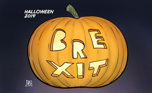 Cartoon: Halloween-Brexit (medium) by Harm Bengen tagged halloween,2019,kürbis,horror,brexit,verschiebung,eu,europa,austritt,gb,uk,ende,harm,bengen,cartoon,karikatur,halloween,2019,kürbis,horror,brexit,verschiebung,eu,europa,austritt,gb,uk,ende,harm,bengen,cartoon,karikatur