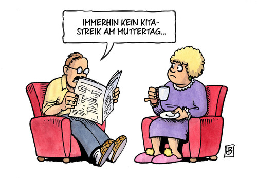Cartoon: Kita-Streik und Muttertag (medium) by Harm Bengen tagged streik,sonntag,muttertag,unbefristet,kindergarten,kita,verdi,tarifverhandlungen,tarif,gewerkschaft,tarifkampf,karikatur,cartoon,bengen,harm,muttertag,sonntag,streik,unbefristet,verdi,kita,kindergarten,tarif,tarifverhandlungen,tarifkampf,gewerkschaft,harm,bengen,cartoon,karikatur