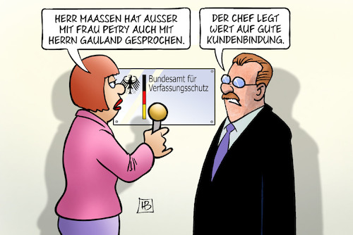 Cartoon: Maaßen-Treffs (medium) by Harm Bengen tagged maaßen,treffs,bundesamt,verfassungsschutz,petry,gauland,chef,kundenbindung,interview,harm,bengen,cartoon,karikatur,maaßen,treffs,bundesamt,verfassungsschutz,petry,gauland,chef,kundenbindung,interview,harm,bengen,cartoon,karikatur