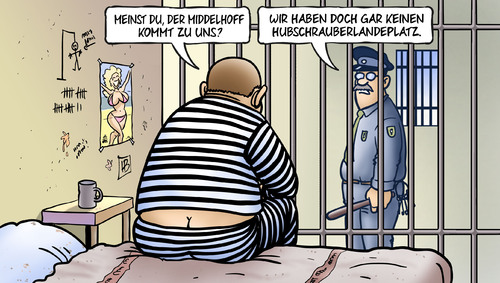 Cartoon: Middelhoff (medium) by Harm Bengen tagged middelhoff,hubschrauberlandeplatz,privatfluege,untreue,manager,arcandor,karstadt,knast,gefaengnis,haftbefehl,gericht,urteil,harm,bengen,cartoon,karikatur,middelhoff,hubschrauberlandeplatz,privatfluege,untreue,manager,arcandor,karstadt,knast,gefaengnis,haftbefehl,gericht,urteil,harm,bengen,cartoon,karikatur