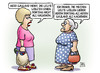 Cartoon: Gauland-Boateng (small) by harm tagged gauland,boateng,nachbarn,afd,rassismus,rechts,nationalismus,nationalmannschaft,fussball,susemil,jutta,harm,bengen,cartoon,karikatur
