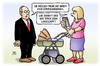 Cartoon: Smartphone-Sucht (small) by Harm Bengen tagged kind,kommunizieren,studie,smartphone,sucht,kinder,kinderwagen,mutter,whatsapp,harm,bengen,cartoon,karikatur