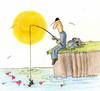 Cartoon: Fisherman (small) by cizofreni tagged fisherman,balikci,olta,ask,love,nature,doga,tabiat