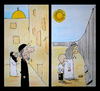 Cartoon: The Wall (small) by cizofreni tagged wall duvar filistin israil palestine israel kudüs jerusalem
