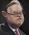 Cartoon: Martti Ahtisaari (small) by jonesmac2006 tagged caricature