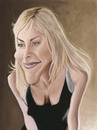 Cartoon: Sharon Stone (small) by jonesmac2006 tagged caricature