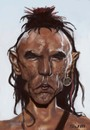 Cartoon: Wes Studi (small) by jonesmac2006 tagged wes,studi,caricature