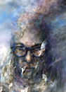 Cartoon: no silent places anymore (small) by nootoon tagged nootoonart,germany,silence,art,modern