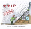 Cartoon: Geheim-TTIP (small) by mandzel tagged ttip,europa,usa,standards