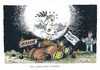 Cartoon: Immerhin ein Lichtblick (small) by mandzel tagged ukraine,waffenruhe,sprengstoff