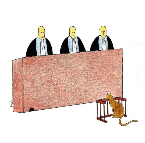 Cartoon: Court (medium) by cemkoc tagged le,juridiction,la,cour,droit,legal,richter,attorney,lawyer,prosecutor,public,prosecution,tribunal,trial,defendant,last,supreme,justice,judicial,judge,judgement,court,cartoons,law,karikatürleri,hukuk,juge,abogado,defense