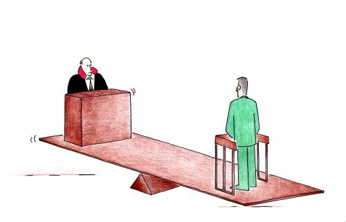Cartoon: judgement (medium) by cemkoc tagged tribunal,judgement,court,judicial,judge,justice,ko,cem,karikatürleri,hukuk,cartoons,law,supreme,lex,jurisdiction,legal,gesetz,richter,adalet,hakim,mahkeme,robe,wig,defendant,prosecutor,koc,magistrate,judgeship