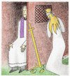 Cartoon: confessional booth (small) by cemkoc tagged themis,justice,confessional,booth