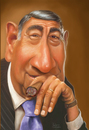 Cartoon: Howard Cosell (small) by rocksaw tagged cosell