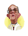 Cartoon: Pope Francis (small) by rocksaw tagged caricature,study,pope,francis