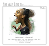 Cartoon: The way I see it (small) by rocksaw tagged serena,williams