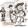Cartoon: cutting edge divorce (small) by ade tagged henryv111,executioner,divorce,tudor