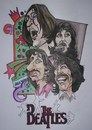 Cartoon: FAB FOUR 1968 (small) by ade tagged beatles