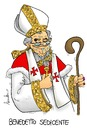 Cartoon: I am Benedictus (small) by Atride tagged pope,papa,benedetto,benediktus,xvi,benedictus,joseph,ratzinger
