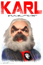 Cartoon: karl marx (small) by allan mcdonald tagged revolucion