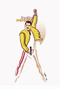Cartoon: Freddy Mercury .. (small) by ismail dogan tagged freddy mercury
