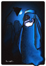 Cartoon: BURKA  !.. (small) by ismail dogan tagged freedom,of,expression