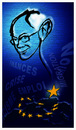 Cartoon: HERMAN VAN ROMPUY (small) by ismail dogan tagged herman,van,rompuy
