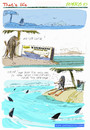 Cartoon: That s life (small) by portos tagged desert,island,castaway,2010