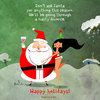 Cartoon: Bad time. (small) by Garrincha tagged santa,christmas,toys