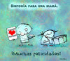 Cartoon: Symphony for a Mom (small) by Garrincha tagged mothers,day