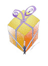 Cartoon: gift_of_empty_pocket (small) by zluetic tagged gift,empty,pocket