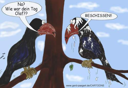 Cartoon: Montag (medium) by boogieplayer tagged alltag