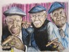 Cartoon: Buena Vista Social Club - Part3 (small) by boogieplayer tagged musiker