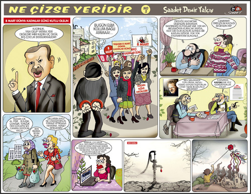 Cartoon: Ne Cizse Yeridir - 3 (medium) by saadet demir yalcin tagged sdy,saadet