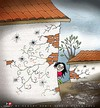 Cartoon: Hope is always - 4 (small) by saadet demir yalcin tagged saadet,sdy,syalcin,turkey,hope,world,peace,human
