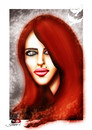 Cartoon: Madalina Manole.. (small) by saadet demir yalcin tagged madalina,romania,syalcin