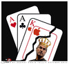 Cartoon: The most difficult game (small) by saadet demir yalcin tagged saadet sdy stevejobs apple game playingcard