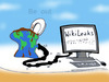 Cartoon: WikiLeaks (small) by T-BOY tagged be out