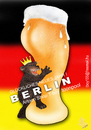 Cartoon: BIERLIN (small) by T-BOY tagged bier,beer,bear,fest,berlin,teddy