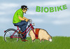 Cartoon: BIOBIKE (small) by T-BOY tagged biobike