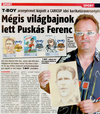 Cartoon: CARICUP 2010   PUSKAS  WIN (small) by T-BOY tagged caricup,2010,puskas,win