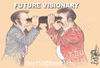 Cartoon: FUTURE VISIONARY (small) by T-BOY tagged vi