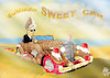 Cartoon: SUMMER SWEET CAR (small) by T-BOY tagged summer,sweet,car