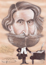 Cartoon: VERDI (small) by T-BOY tagged verdi