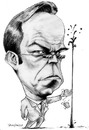 Cartoon: Agent Smith (small) by stieglitz tagged agent,smith,huge,weaving,karikatur,caricature