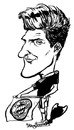 Cartoon: Mario Gomez (small) by stieglitz tagged mario,gomez,karikatur,caricature