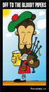 Cartoon: Bloody Pipers (small) by BRAINFART tagged comic,brainfart,funny,laugh